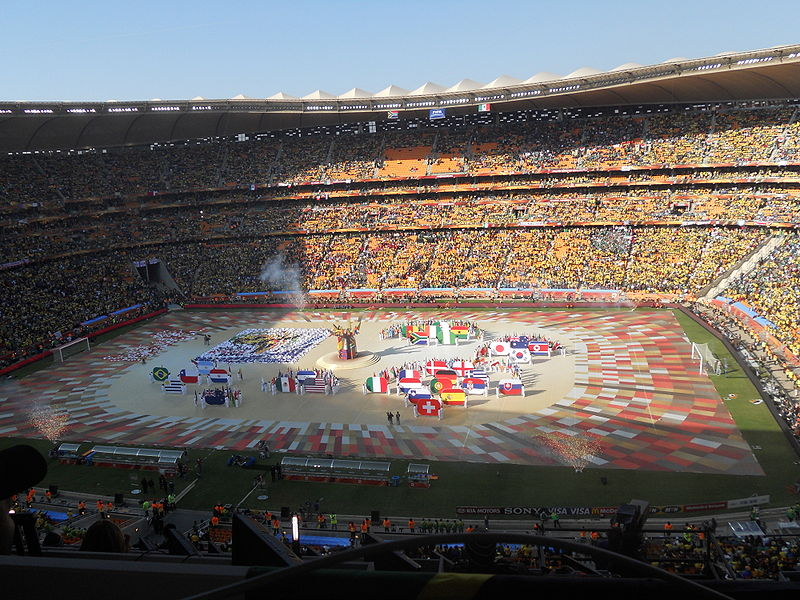 World Cup opening ceremony 2010